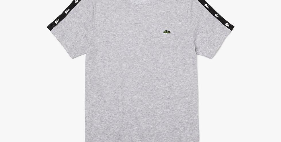 Lacoste - Crocodile Bands T-shirt - Grey
