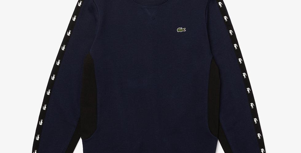 Lacoste - Crocodile Band Sweatshirt - Navy