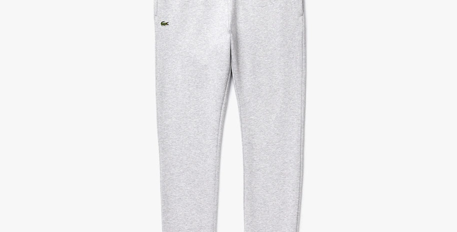 Lacoste Sport Cotton Fleece Sweatpants - Grey