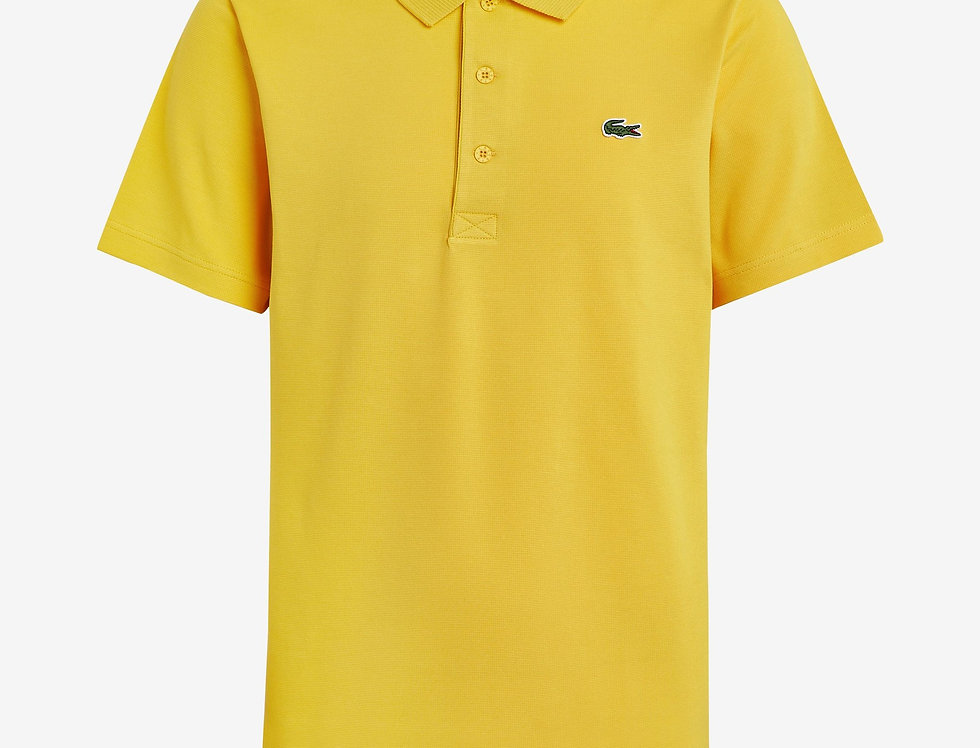 Lacoste - Ottoman Cotton Polo - Yellow