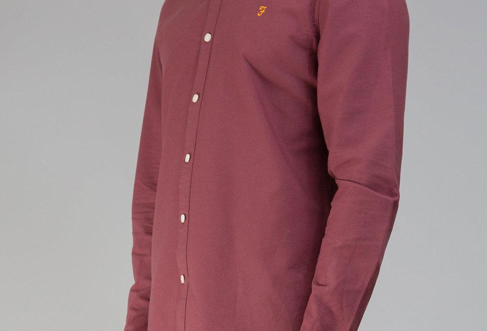 Farah - Brewer Slim Shirt - Farah Red