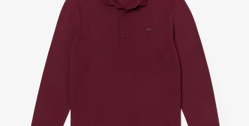 Lacoste - L/S Paris Polo Regular Fit Stretch Cotton Piqué - Bordeaux