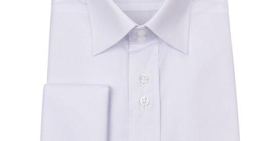 Guide London - Classic Double Cuff Shirt - White