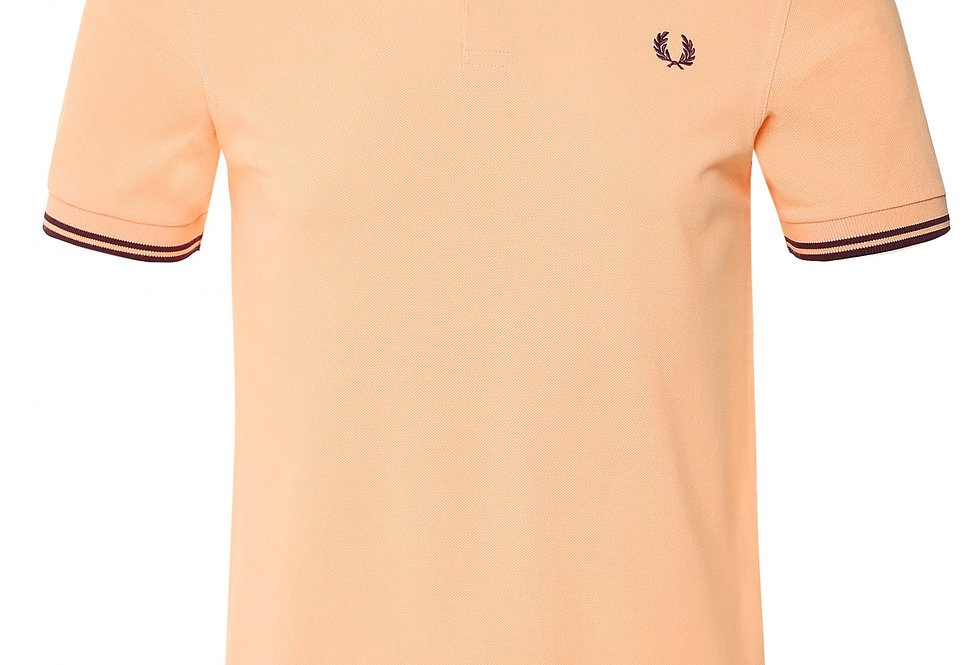Fred Perry - Twin Tipped Polo - Coral