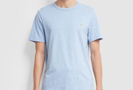 Farah - Dennis Slim Fit T-Shirt - Moonstone Marl