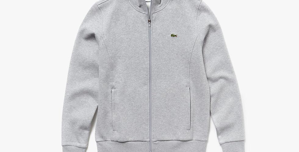 Lacoste Sport zip-up fleece sweatshirt - Grey
