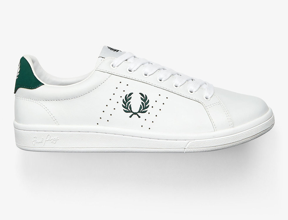 Fred Perry - Leather Trainers - White