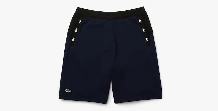 Lacoste - Crocodile Bands Shorts - Navy