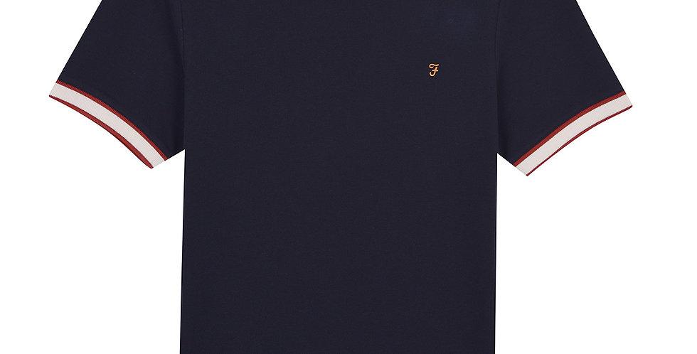 Farah - Birmingham Slim Fit T-Shirt - True Navy