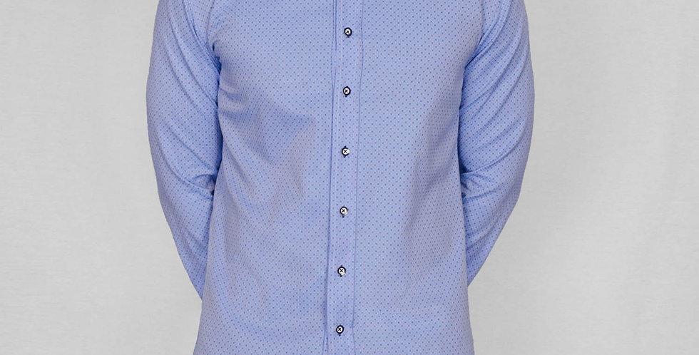 Bewley & Ritch -Long Sleeve Grande Shirt - Sky