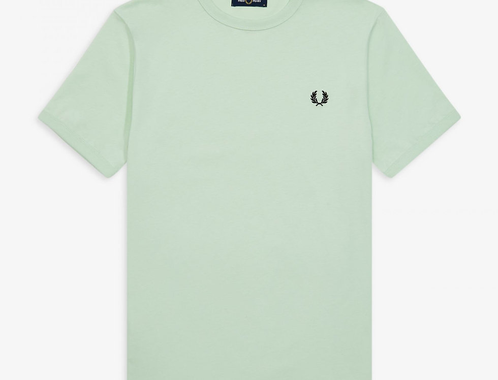 Fred Perry - Ringer T-Shirt - Misty jade