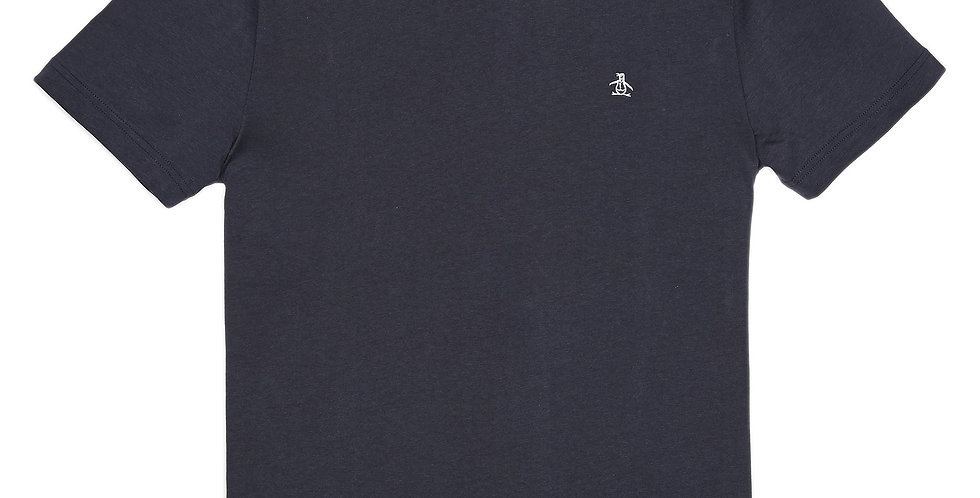 Original Penguin - Pin Point Embroidery Tee - Dark Saphire