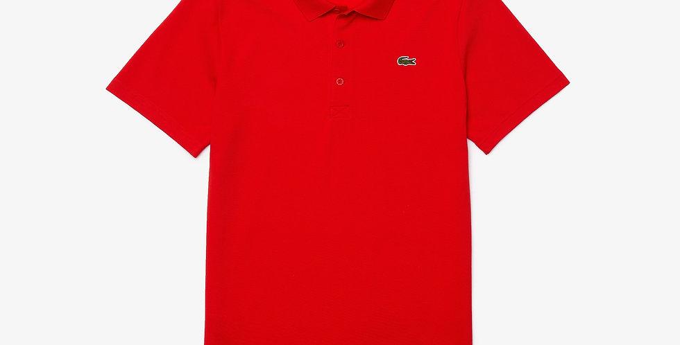 Lacoste - Ottoman Cotton Polo - Red