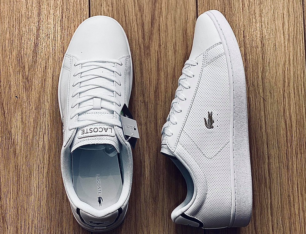 Lacoste -Carnaby Evo Trainers 0120 1 SMA - White leather