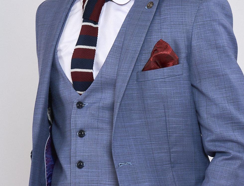 Marc Darcy - SID - Blue Grey Check Blazer
