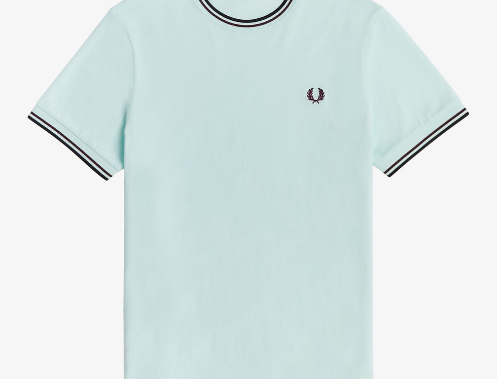 Fred Perry - Twin Tipped T-Shirt - Brighton Blue