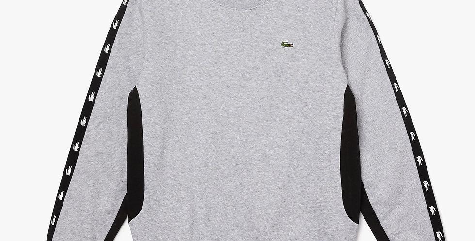 Lacoste - Crocodile Band Sweatshirt - Grey