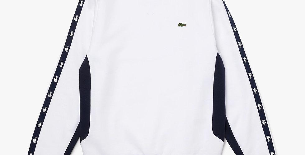 Lacoste - Crocodile Band Sweatshirt - White