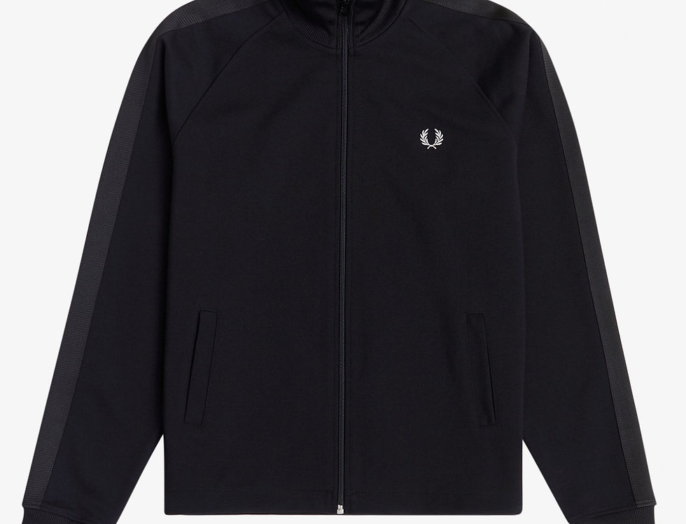 Fred Perry - Tonal Tape Track Jacket - Black