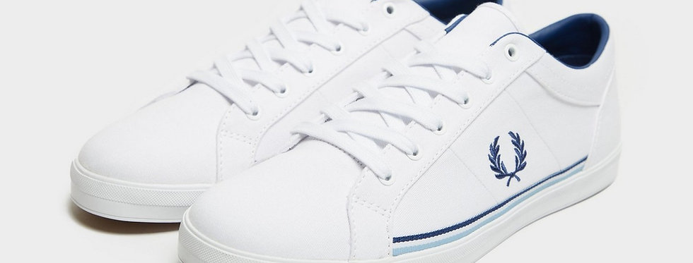 Fred Perry - Baseline Twill - White