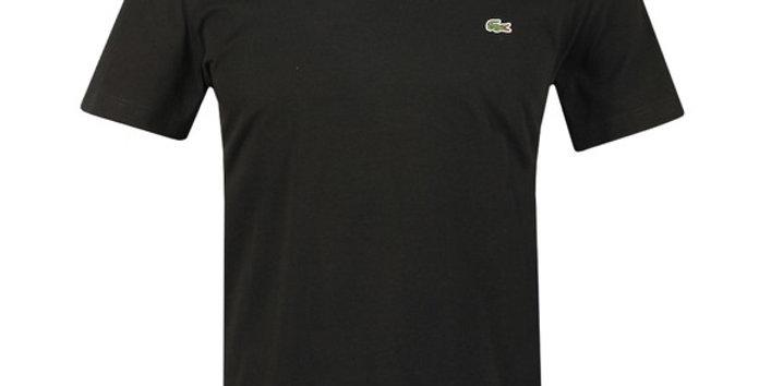 Lacoste - Plain Regular Fit Tee - Black