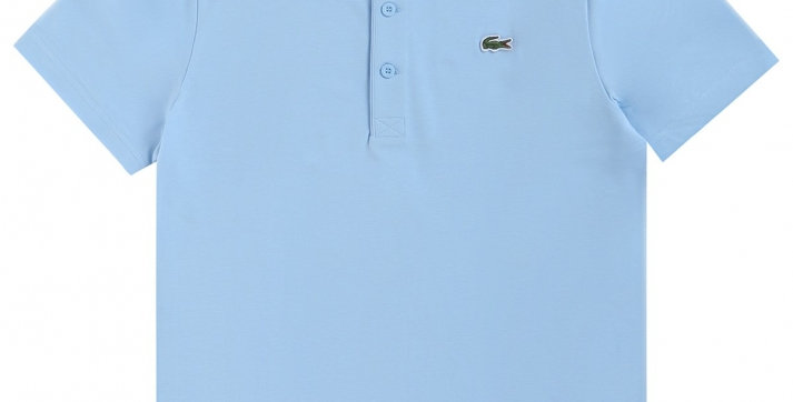 Lacoste - Ottoman Cotton Polo - Sky Blue