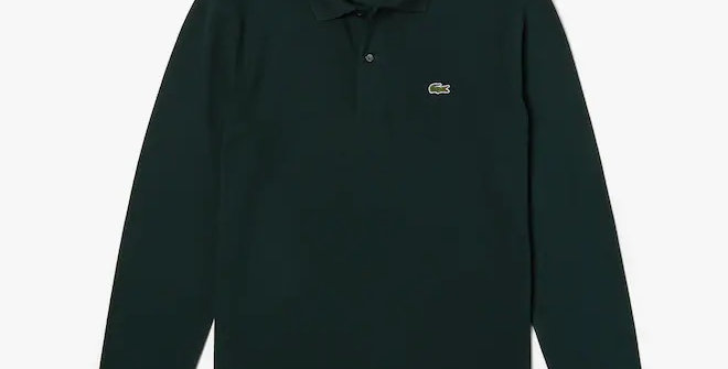 Lacoste - Classic Fit Long-sleeve Polo Shirt - Green