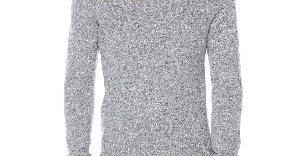 Original Penguin - 100% Lambswool Crew Neck Sweater - Faded Denim