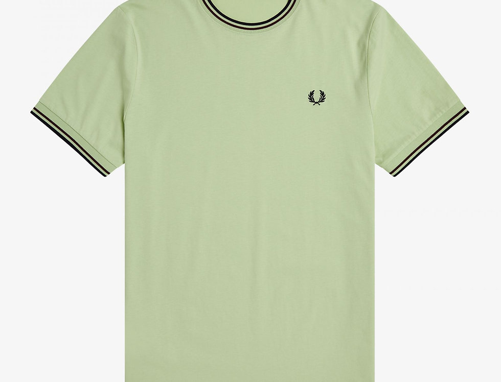 Fred Perry - Twin Tipped T-Shirt - Willow