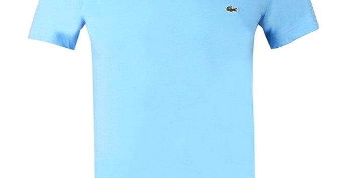 Lacoste - Plain Regular Fit Tee - Sky Blue