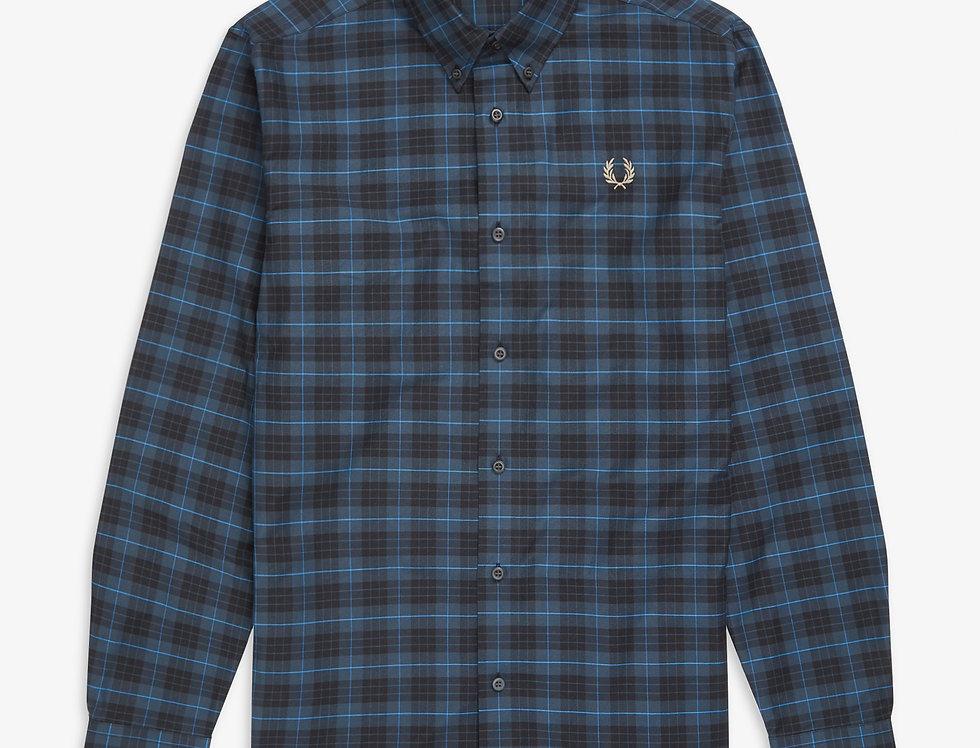 Fred Perry - Tartan Shirt - Midnight Blue