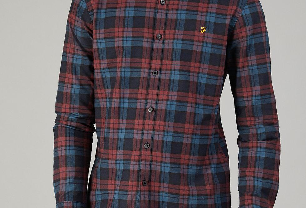 Farah - Radley Check Shirt - Farah Red