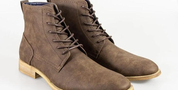 Cavani - Hurricane Lace Up Boots - Brown