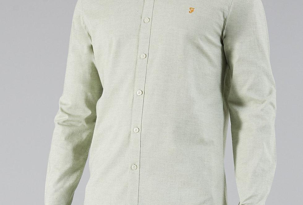 Farah - Steen Slim Long Sleeve Shirt - Balsam