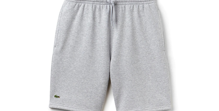Lacoste Sport Fleece Shorts - Grey