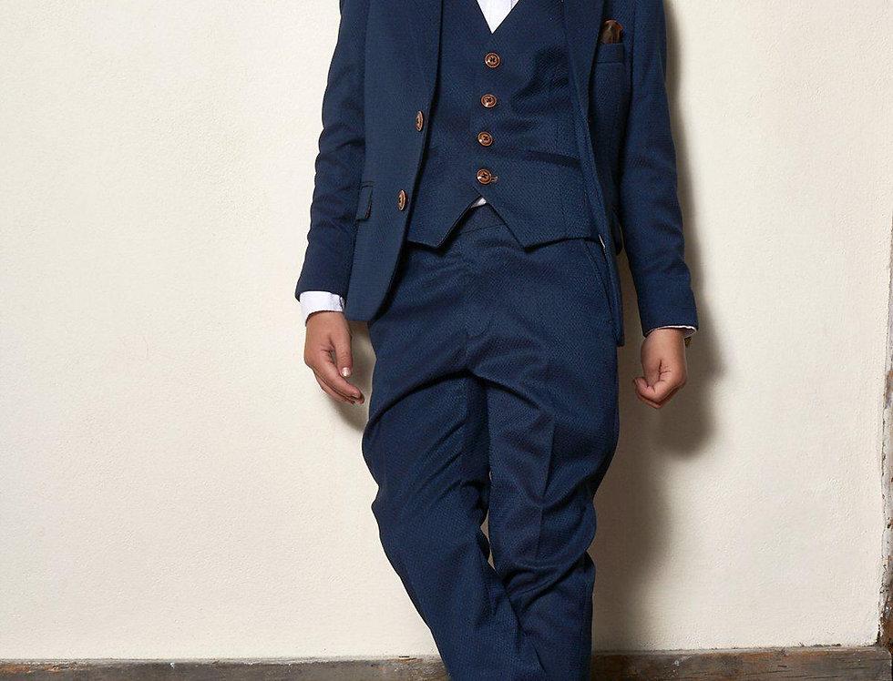 Marc Darcy Kids - MAX - Royal Blue Three Piece Suit