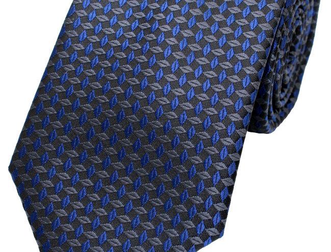 Lloyd Attree & Smith - Geo Poly Tie - Blue