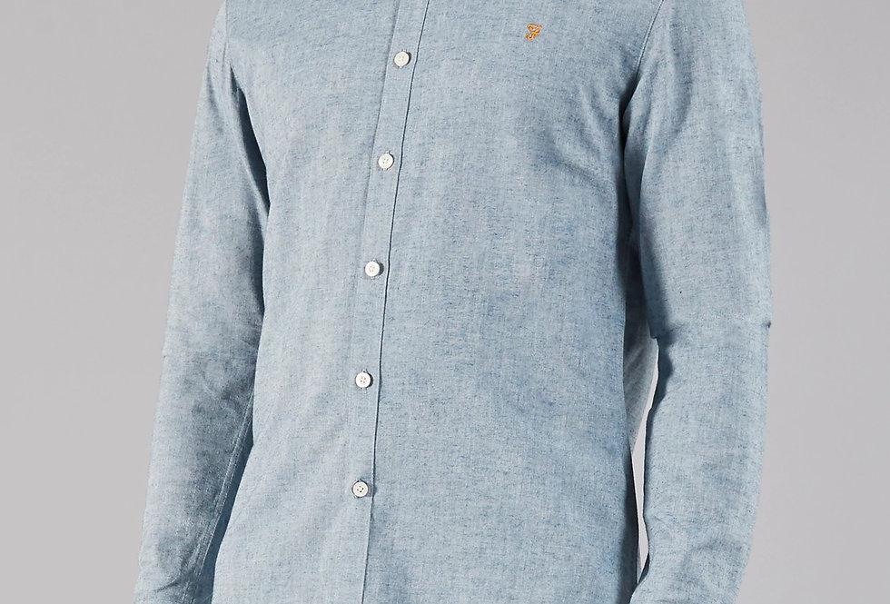 Farah - Steen Slim Long Sleeve Shirt - Stellar
