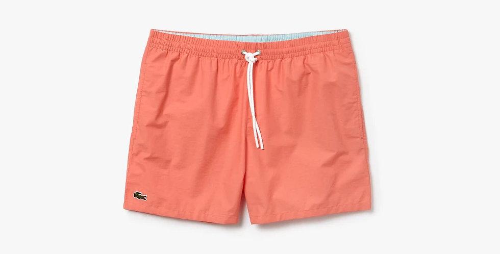 Lacoste - Swimming Trunks in Taffeta - Light Orange