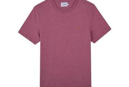 Farah - Dennis Slim Fit T-Shirt - Dusty Rose Marl