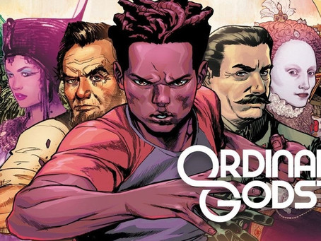 Ordinary Gods #1 proves to be anything BUT ordinary. ADVANCE REVIEW