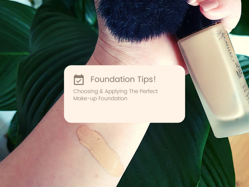 Choosing & Applying The Perfect Make-up Foundation