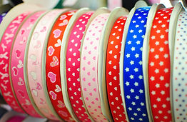Ribbon Ribbons Grosgrain Character Cartoon Sports School Hairbow Girls Cheerleader Bow