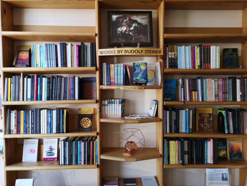 Book section - Anthroposophical Shop in Adelaide