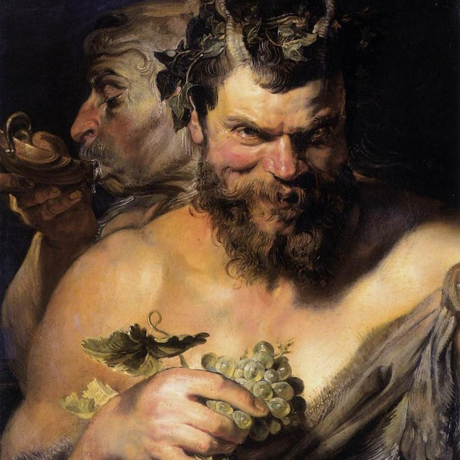 God of the grape-harvest, winemaking and wine, of fertility, ritual madness, religious ecstasy,
