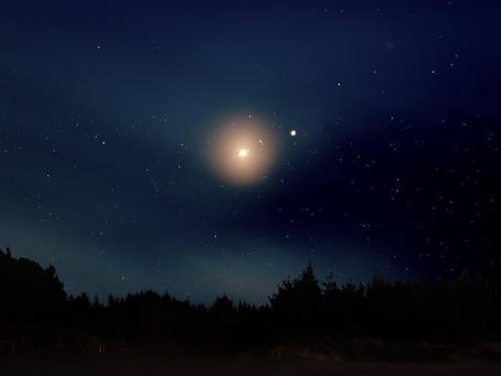 Koniunkcja Jowisza i Saturna w Wodniku. Sezon Koziorożca.