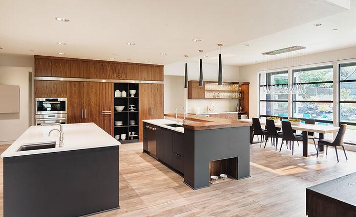 Cozinha Luxuosa integra imobiliário