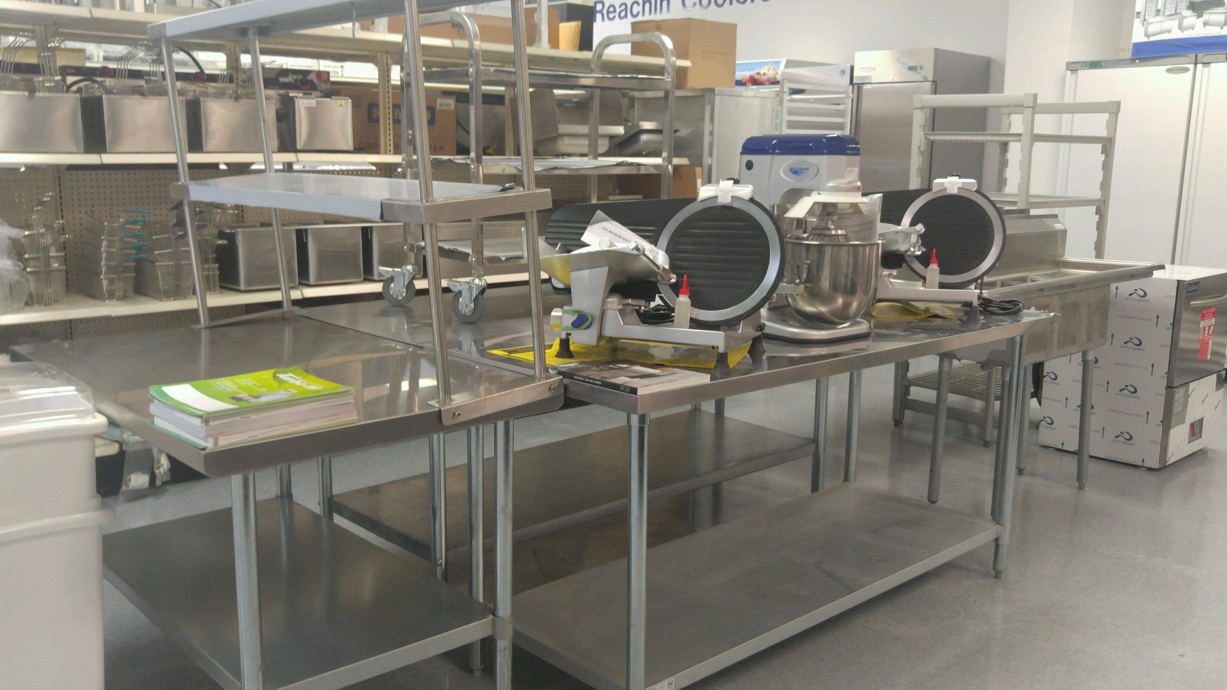 Slicers, Tables, Stainless Steel Sin