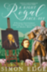 A Righ Royal Face-Off, a novel about Thomas Gainsborough and Sir Joshua Reynolds