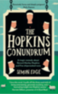 The Hopkins Conundrum, a novel about Gerard Manley Hopkins by Simon Edge